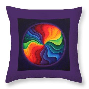 Color Joy Throw Pillow