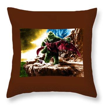 Color King Kong Throw Pillow