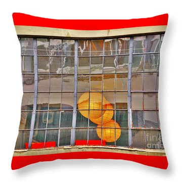 Color Me Golden Throw Pillow