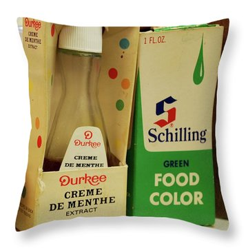 Color Me Old Throw Pillow