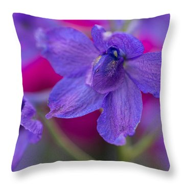 Throw Pillow featuring the photograph Color Me Spring by Julie Andel