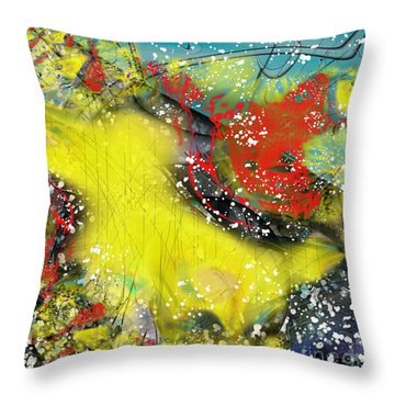 Let's Celebrate Throw Pillow