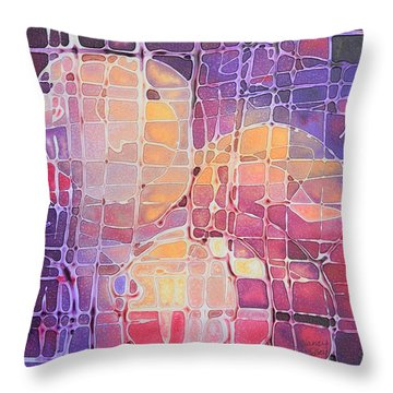 Color Odyssey Throw Pillow
