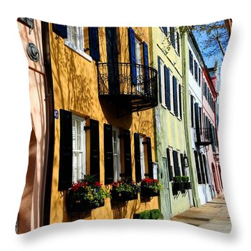 Color Of Charleston Throw Pillow