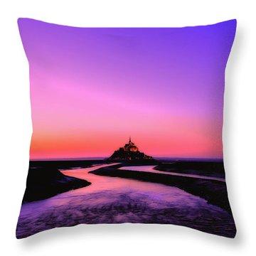 Color Palette Throw Pillow