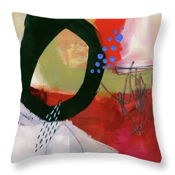 Color, Pattern, Line #1 Throw Pillow by Jane Davies