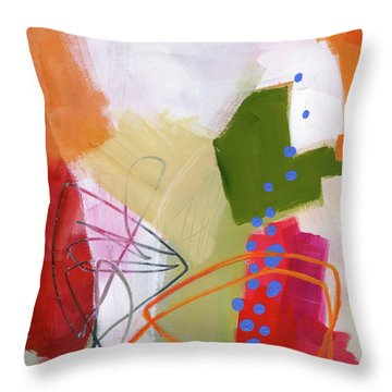 Color, Pattern, Line #4 Throw Pillow