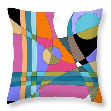 Color Play Throw Pillow