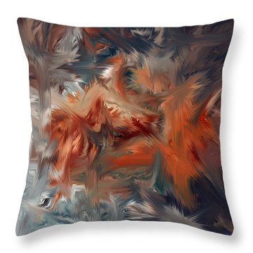 Color Reality 54 Throw Pillow