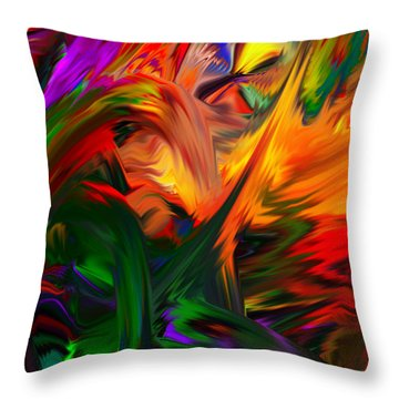Color Reality B4 Throw Pillow