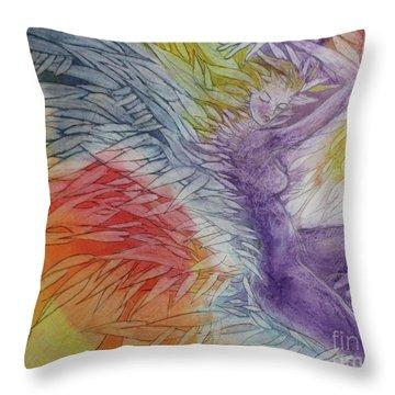 Color Spirit Throw Pillow by Marat Essex