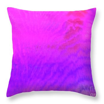 Color Surge Throw Pillow