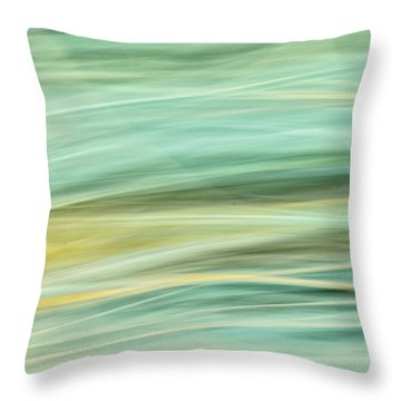 Color Swipe Throw Pillow