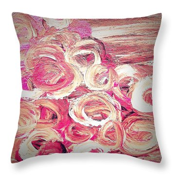 Color Trend Mesmeric Dream Throw Pillow