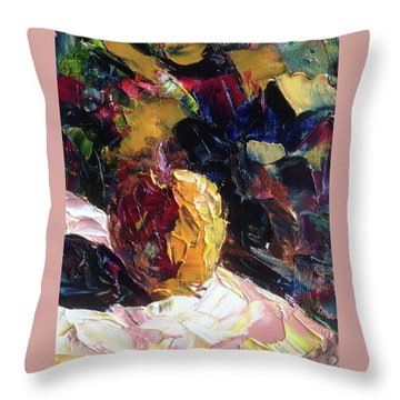 Color Volant Throw Pillow