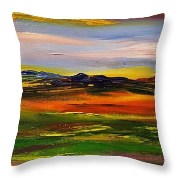Color Your World    #58 Throw Pillow