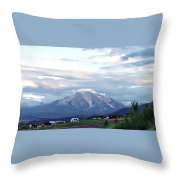 Colorado 2006 Throw Pillow by Jerry Battle