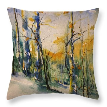 Colorado Bright Morning 1 Throw Pillow