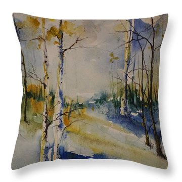 Colorado Bright Morning 2 Throw Pillow
