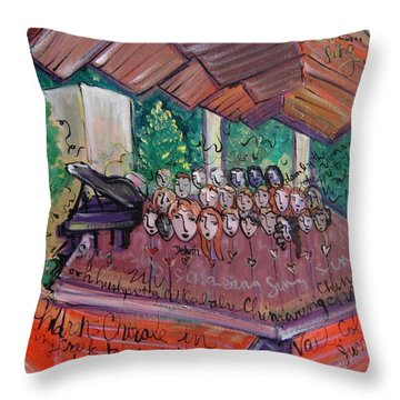 Colorado Childrens Chorale Throw Pillow