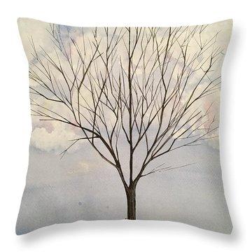 Colorado Cottonwood Throw Pillow
