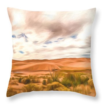 Colorado Dunes Throw Pillow