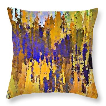 Colorado Fall Throw Pillow