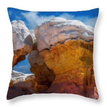 Colorado Gold Mine Throw Pillow