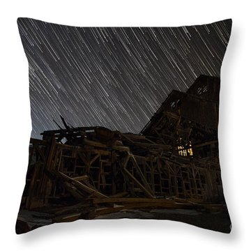 Colorado Gold Mine Throw Pillow