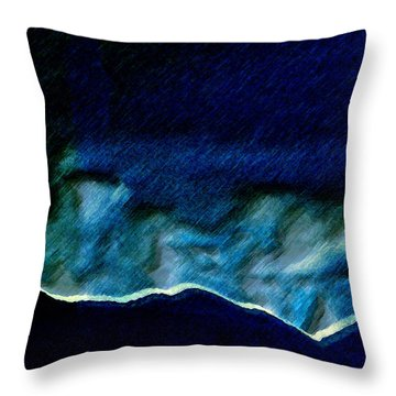 Colorado Landscape 2 Throw Pillow by Lenore Senior