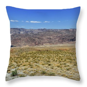 Colorado River In Arizona Throw Pillow by RicardMN Photography