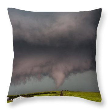 Colorado Tornado 2 Throw Pillow