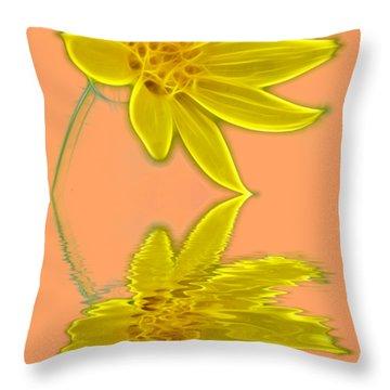 Colorado Wildflower Throw Pillow