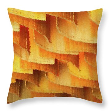 Colorful Bamboo Ceiling- China Throw Pillow
