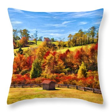 Colorful Dreams II Throw Pillow