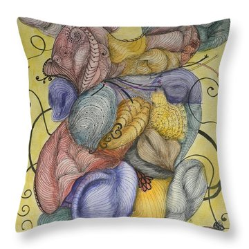 Colorful Dreams Throw Pillow by Quwatha Valentine