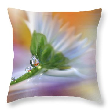 Colorful Explosion... Throw Pillow by Juliana Nan