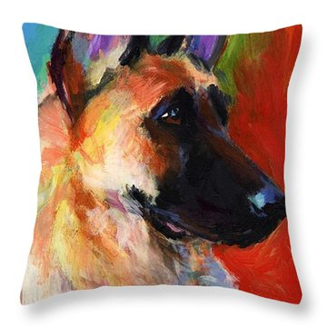 Portraits Throw Pillows