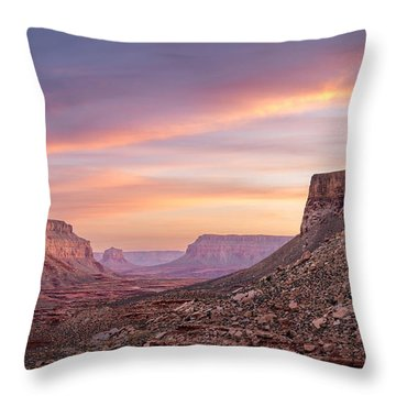 Colorful Havasupai Hike Throw Pillow