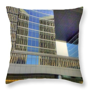 Colorful La Throw Pillow