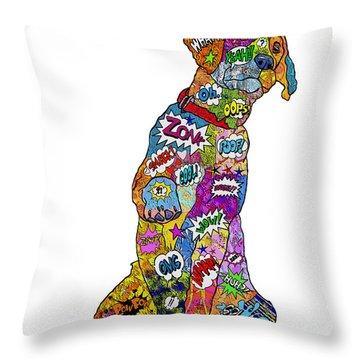 Labradorable Throw Pillow