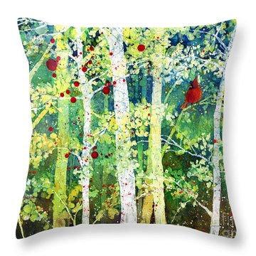 Colorful Presence Throw Pillow