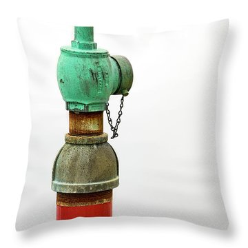 Colorful Valve Throw Pillow