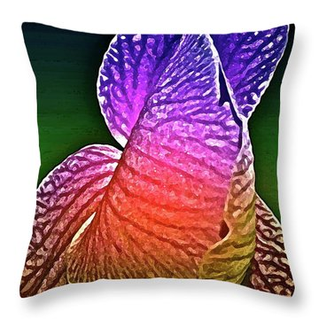Coloring And Imagining Throw Pillow by Gwyn Newcombe