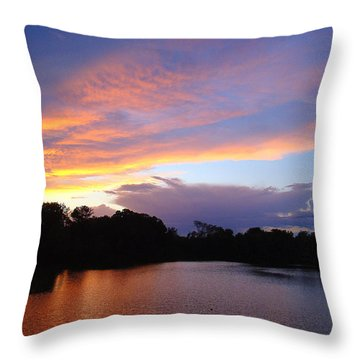 Throw Pillow featuring the photograph Coloring My World by J R Seymour