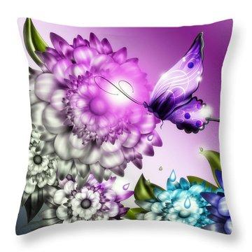 Colorizer Throw Pillow