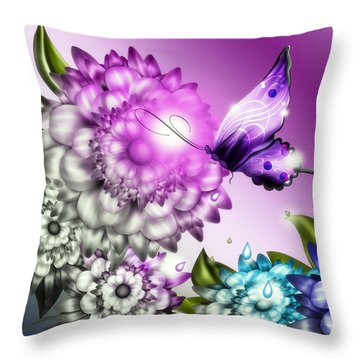 Colorizer Throw Pillow