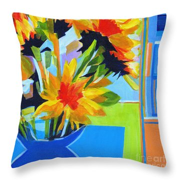 Colors Always On My Mind Throw Pillow