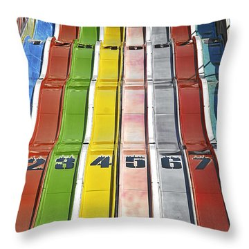 Colors Are A Photographers Life Throw Pillow by Christine Till