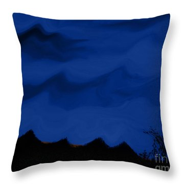Colors At Dusk3 Throw Pillow
